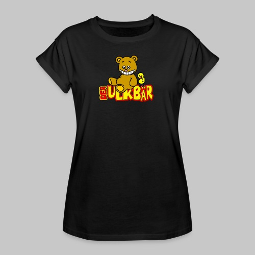 Ulkbär mit Vogel - Frauen Oversize T-Shirt