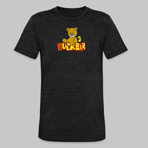 Ulkbär mit Vogel - Unisex Tri-Blend T-Shirt von Bella + Canvas