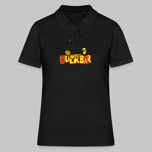 Ulkbär mit Vogel - Frauen Polo Shirt