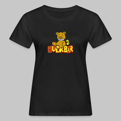 Ulkbär mit Vogel - Frauen Bio-T-Shirt