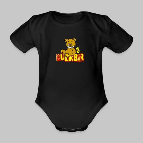 Ulkbär mit Vogel - Baby Bio-Kurzarm-Body