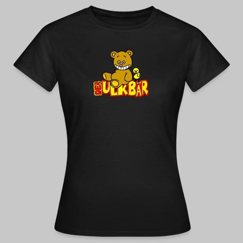 Ulkbär mit Vogel - Frauen T-Shirt