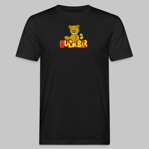 Ulkbär mit Vogel - Männer Bio-T-Shirt