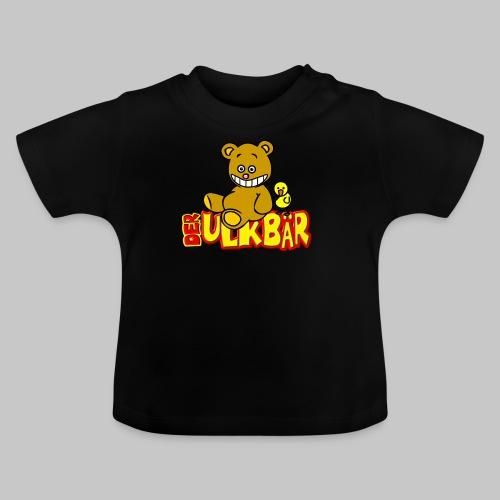 Ulkbär mit Vogel - Baby T-Shirt