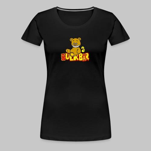 Ulkbär mit Vogel - Frauen Premium T-Shirt