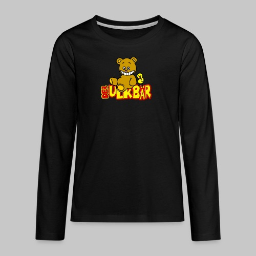 Ulkbär mit Vogel - Teenager Premium Langarmshirt