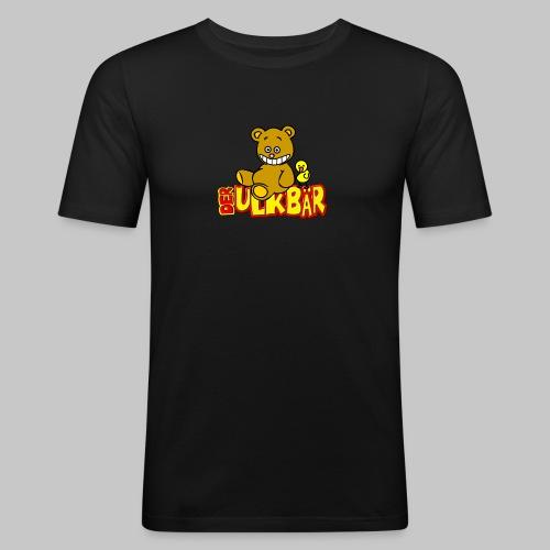 Ulkbär mit Vogel - Männer Slim Fit T-Shirt
