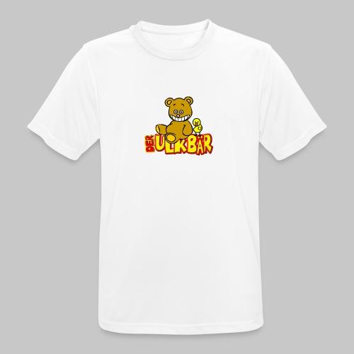 Ulkbär mit Vogel - Männer T-Shirt atmungsaktiv