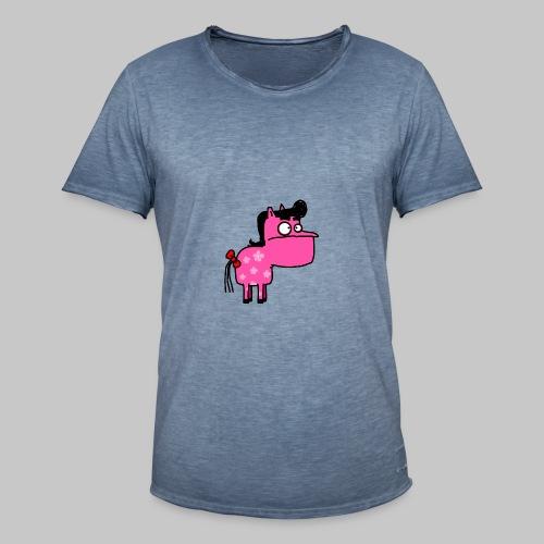 Zerberhorse - Männer Vintage T-Shirt