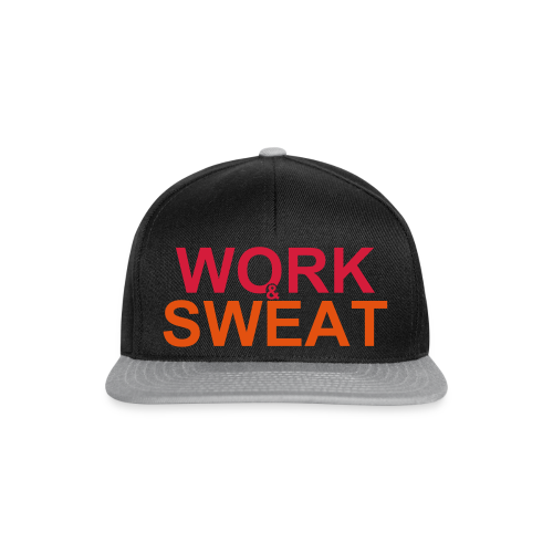 Work and Sweat - Snapback Cap