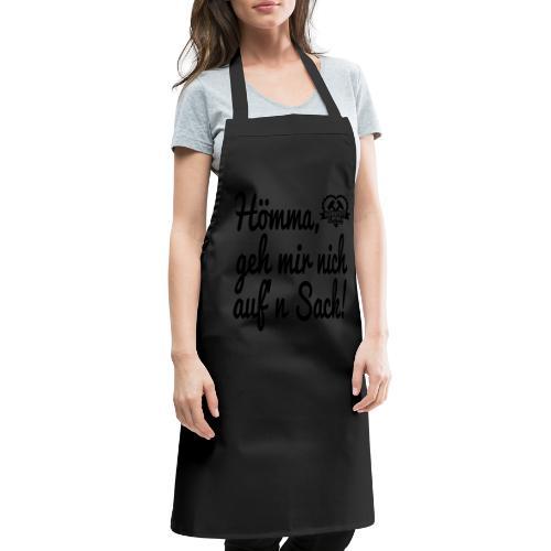 Hömma, geh mir nich aufn Sack - Stofftasche - Kochschürze