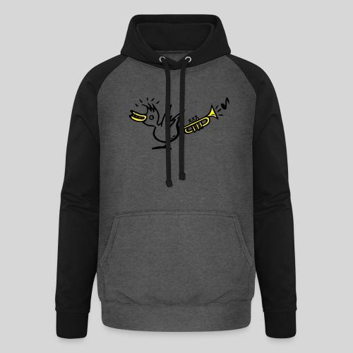 trompetenvogel - Unisex Baseball Hoodie