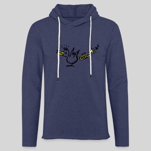 trompetenvogel - Leichtes Kapuzensweatshirt Unisex