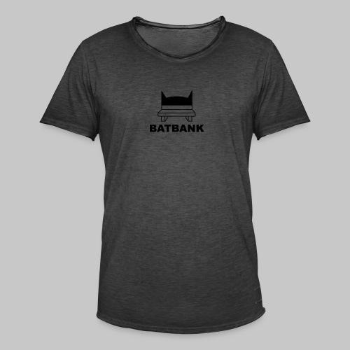 Batbank - Männer Vintage T-Shirt