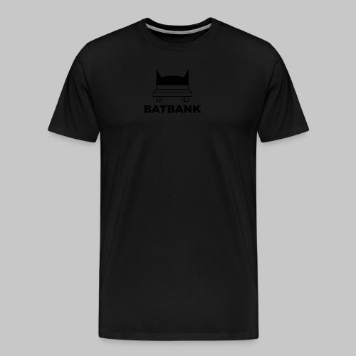 Batbank - Männer Premium T-Shirt