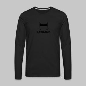 Batbank - Männer Premium Langarmshirt