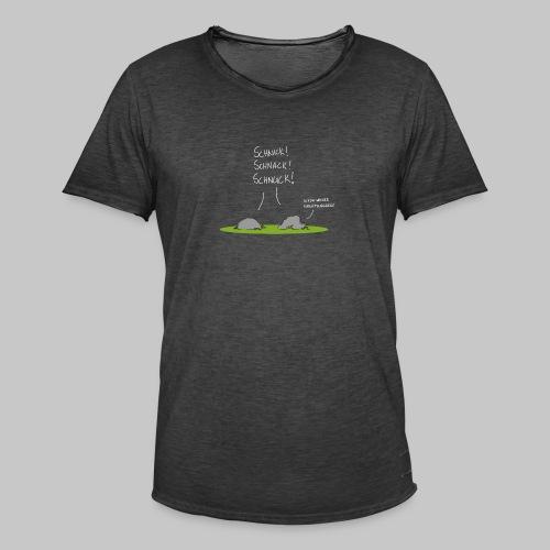 Schnick Schnack Schnuck 2 - Männer Vintage T-Shirt