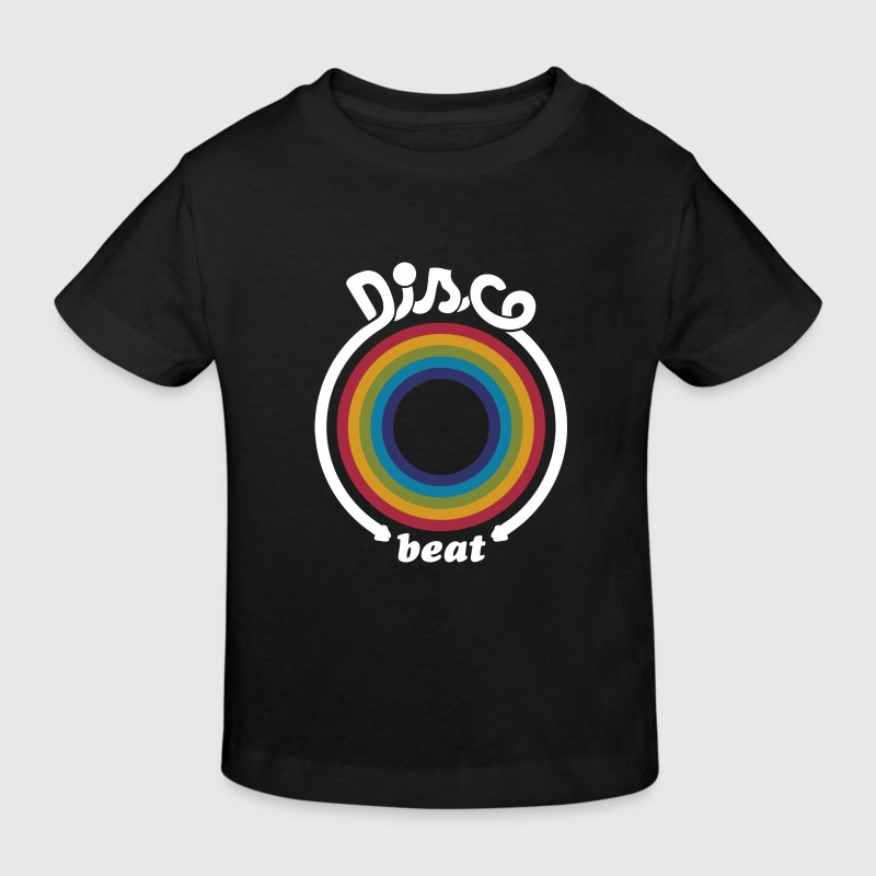 T-shirt Bio Enfant - Disco Beat - T-shirt Bio Enfant