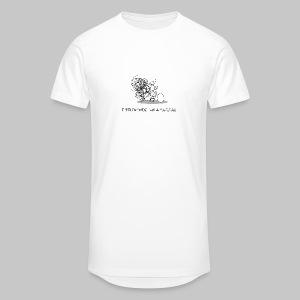 Wollmaussau (dunkle Schrift) - Männer Urban Longshirt