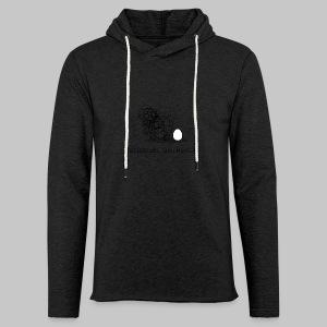 Wollmaussau (dunkle Schrift) - Leichtes Kapuzensweatshirt Unisex
