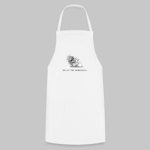 Wollmaussau (dunkle Schrift) - Kochschürze