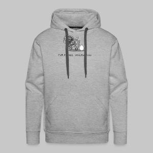 Wollmaussau (dunkle Schrift) - Männer Premium Hoodie
