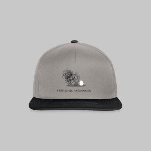 Wollmaussau (dunkle Schrift) - Snapback Cap