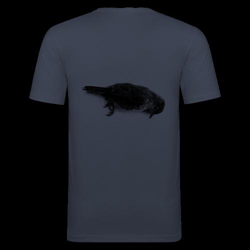 Die bird die !!! Sweat capuche for ♂ - T-shirt près du corps Homme