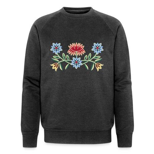 Nordlandsbunad broderi-illustrasjon - Økologisk sweatshirt for menn fra Stanley & Stella