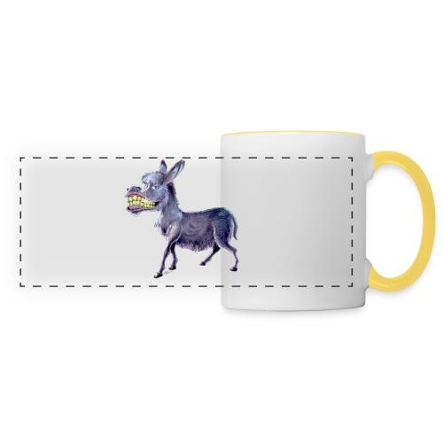 Esel - Donkey - Panoramatasse