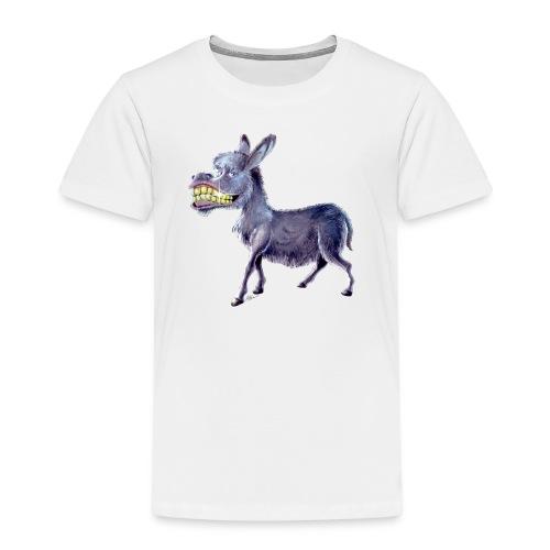 Esel - Donkey - Kinder Premium T-Shirt