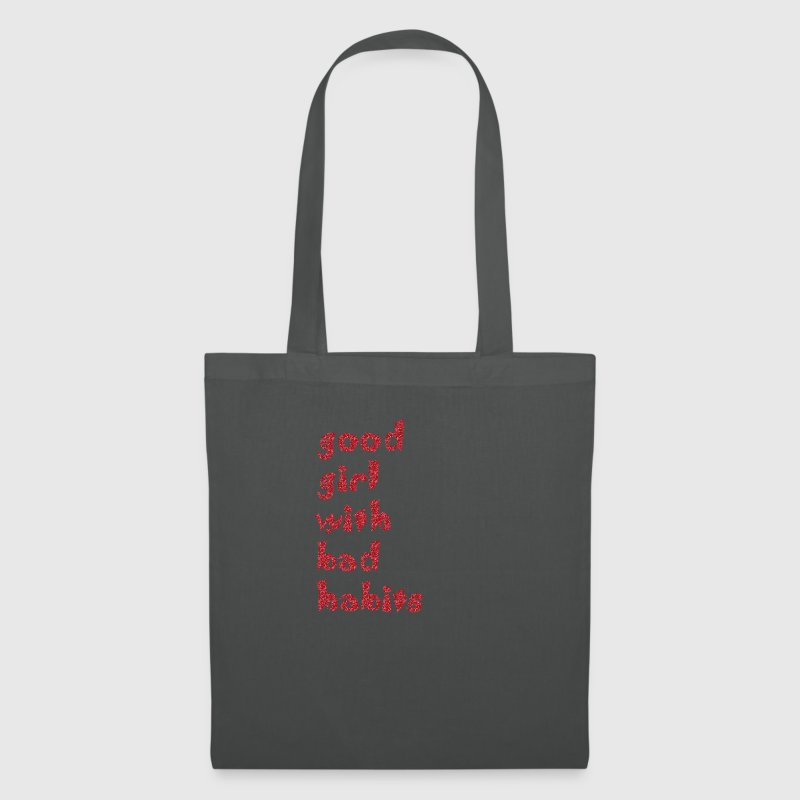 good girl with bad habits - Tote Bag
