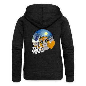 It's A Snowy Town - Woman's T-shirt  - Women's Premium Hooded Jacket