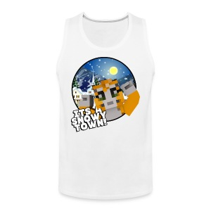It's A Snowy Town - Men's T-shirt  - Men's Premium Tank Top