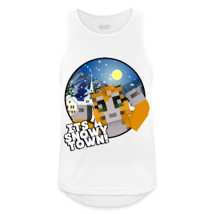 It's A Snowy Town - Men's T-shirt  - Men's Breathable Tank Top