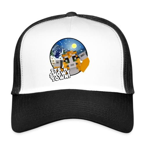 It's A Snowy Town - Teenagers's T-shirt  - Trucker Cap