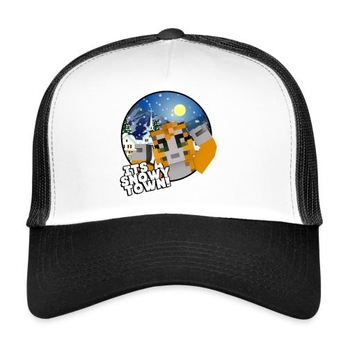 It's A Snowy Town - Teenagers's T-shirt  - Trucker Cap
