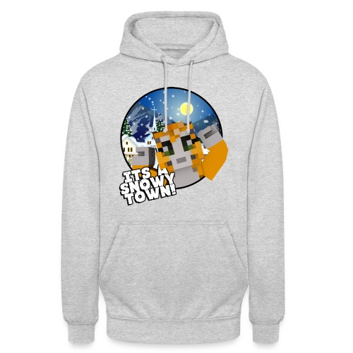 It's A Snowy Town - Teenagers's T-shirt  - Unisex Hoodie