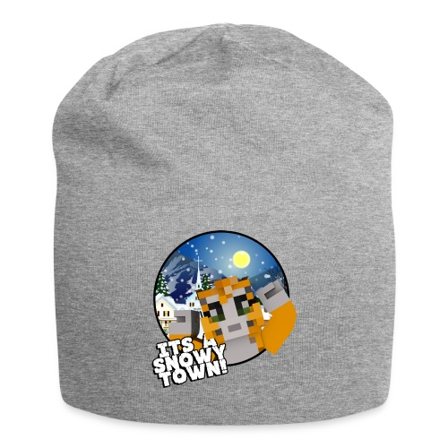 It's A Snowy Town - Teenagers's T-shirt  - Jersey Beanie