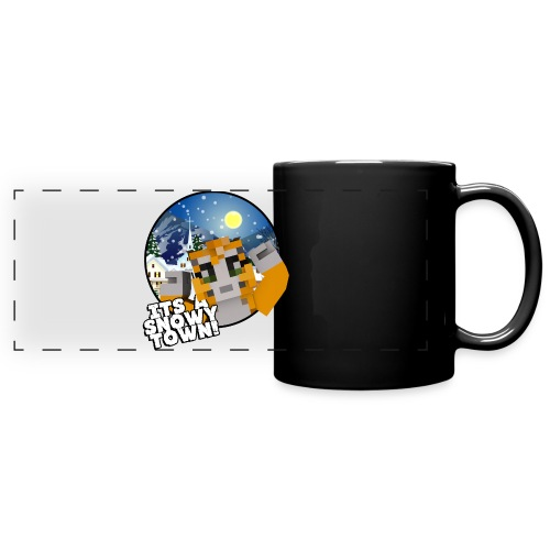 It's A Snowy Town - Teenagers's T-shirt  - Full Color Panoramic Mug