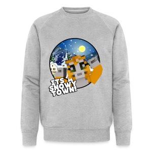 It's A Snowy Town - Teenagers's T-shirt  - Men's Organic Sweatshirt by Stanley & Stella