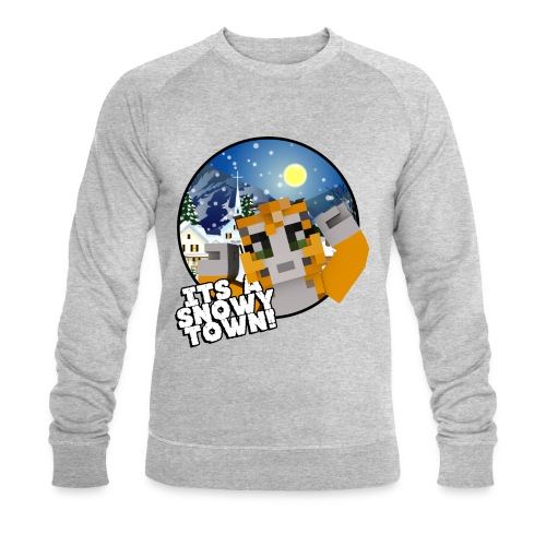 It's A Snowy Town - Teenagers's T-shirt  - Men's Organic Sweatshirt by Stanley & Stella