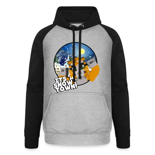 It's A Snowy Town - Teenagers's T-shirt  - Unisex Baseball Hoodie