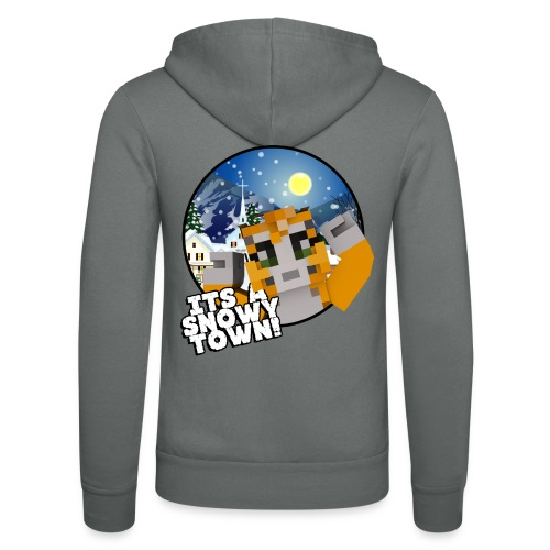 It's A Snowy Town - Teenagers's T-shirt  - Unisex Hooded Jacket by Bella + Canvas