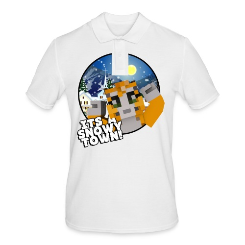 It's A Snowy Town - Teenagers's T-shirt  - Men's Polo Shirt