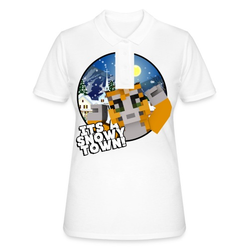 It's A Snowy Town - Teenagers's T-shirt  - Women's Polo Shirt