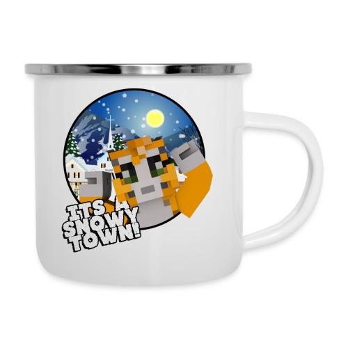 It's A Snowy Town - Teenagers's T-shirt  - Camper Mug