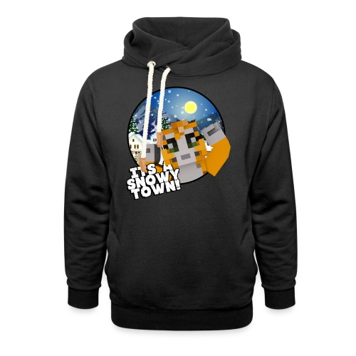 It's A Snowy Town - Teenagers's T-shirt  - Shawl Collar Hoodie