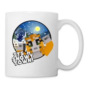 It's A Snowy Town - Teenagers's T-shirt  - Mug