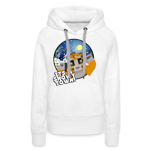 It's A Snowy Town - Teenagers's T-shirt  - Women's Premium Hoodie